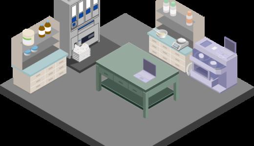 調剤室のイラスト