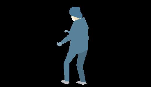 ガウンを着た人のイラスト