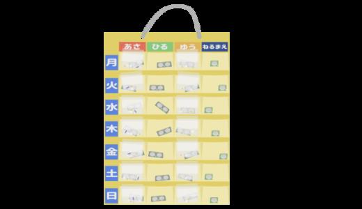 お薬カレンダーのイラスト②