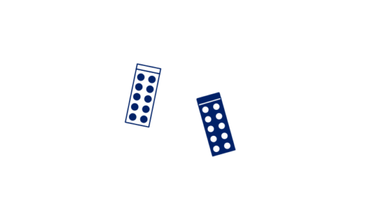 ピクトグラム風のPTPシートのイラスト