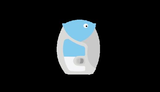 吸入薬イルカのイラスト